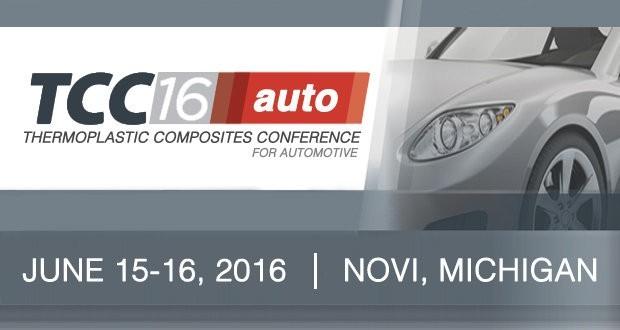 В США пройдет конференция TCC Auto2016 (Термопласты в автостроении)