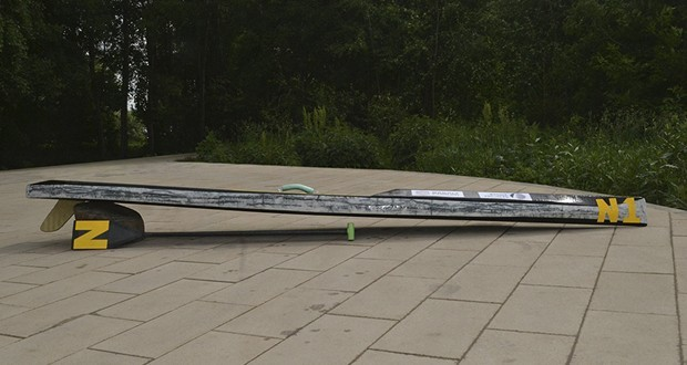 Basalt fiber SUP-surfboard developed and tested in Russia