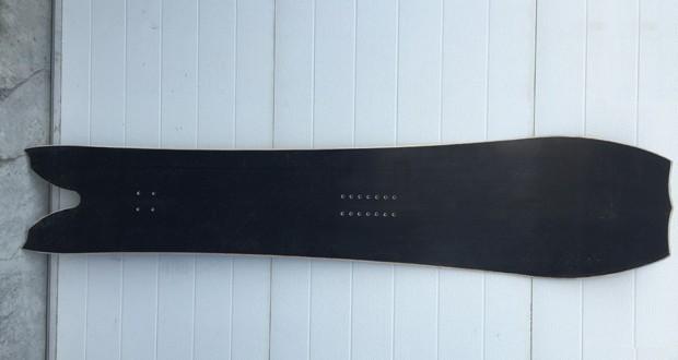 Сноуборд из базальтовой ткани. Источник: basalt.guru