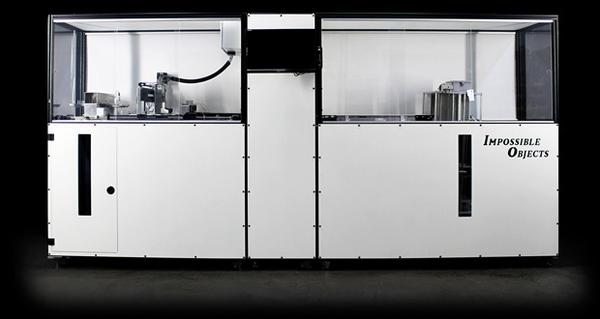 Impossible Objects announced pilot 3D printing machine for high-volume manufacturing