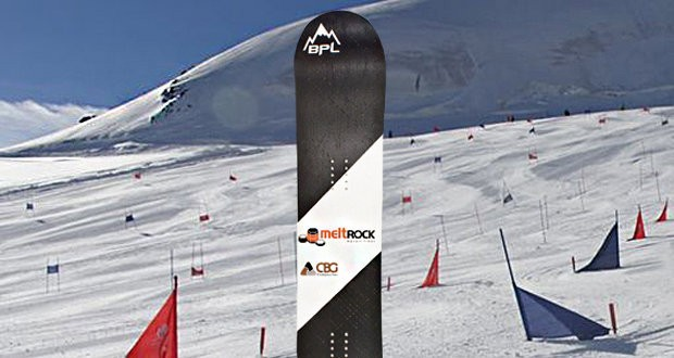 Basalt fiber is used for Russian BPLsnowboards
