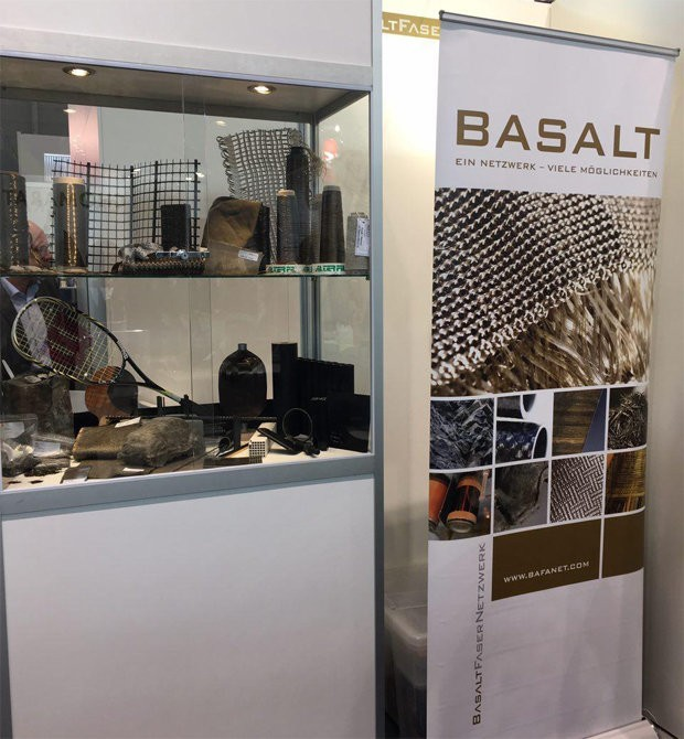 Basalt fiber in the framework of Composite Europe 2017