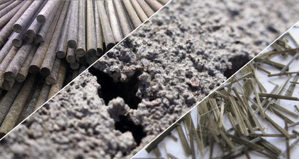 Fiber Reinforced Concrete : Performance evaluation of basalt fiber rod