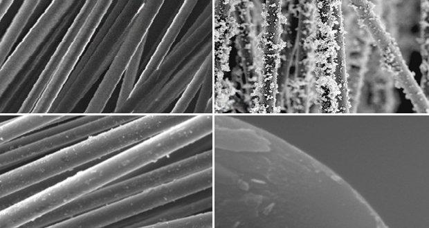 Экспериментальные исследования химического осаждения меди на базальтовом волокне