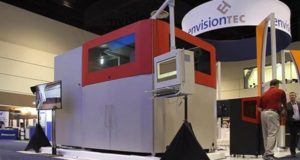 EnvisionTEC presented industrial 3D printer for the production of woven fiber composite parts