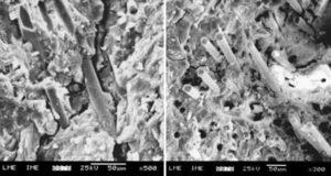 Вязкость при разрушении геополимерных бетонов, армированных базальтовым волокном