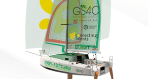 Firm GS4C building recyclable sail-racing boat made of enriched basalt fiber