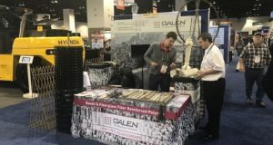 Galen showcased new basalt plastic products at The Precast Show