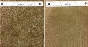 Свойства геополимерных композитов, армированных базальтовым матом из рубленого волокна или плетеным материалом