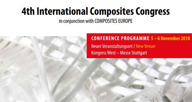International Composites Congress: poised to start Composites Europe 2018