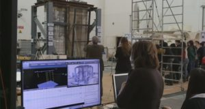 Basalt mesh performance for seismic protection of buildings was checked in Italy