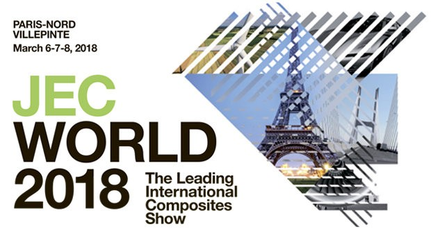 JEC World 2018 to kick off in France on March 6th