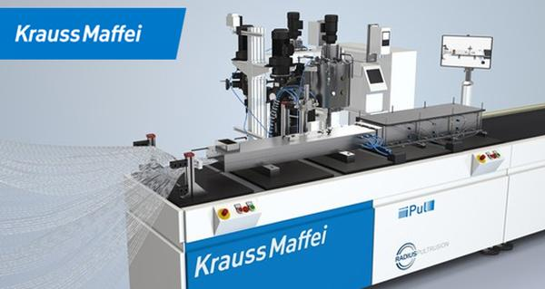 KraussMaffei invites to live presentation of their pultrusion system