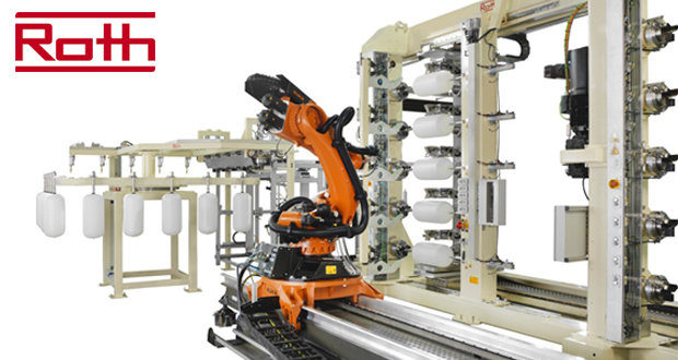 Roth Composite Machinery develops the world's fastest production line for LPG vessels