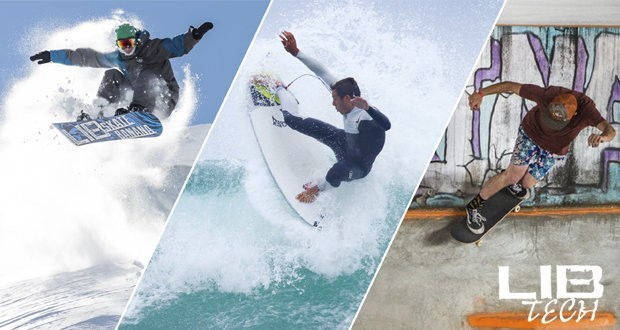 Lib Tech boards with basalt fiber to conquer snow and waves