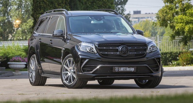 Mercedes-Benz GLS Black Crystal got a tuning kit based on basalt fiber