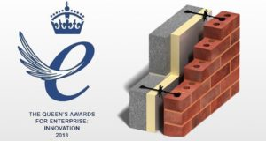 Basalt composite wall ties won Queen's Award