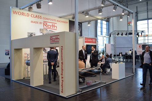 Roth Composite Machinery exhibits at Composites Europe