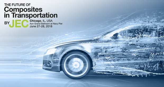 The Future of Composites in Transportation to be discussed in Chicago, late June