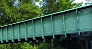 UK constructed the first ever modular composite bridge