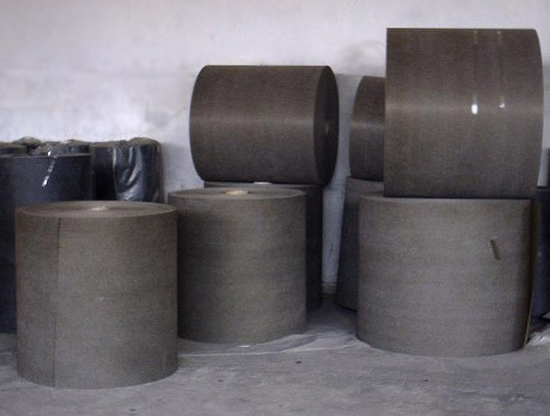 Waterproofing reinforcing, filter material based on basalt fiber
