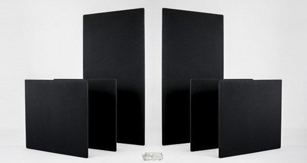 Prosocoustic выпустила панели из базальтоволокна, которые одновременно поглощают и рассеивают звук