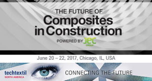 Techtextil North America пройдёт совместно с Future of Composites in Construction