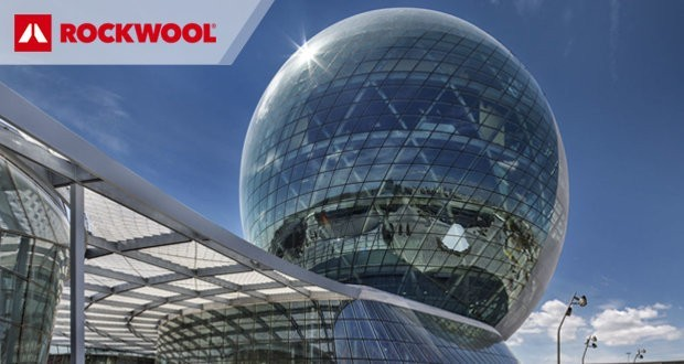 Stone wool used to insulate the world's biggest ball-shaped building