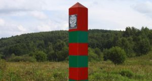 Basalt plastics was used to replace boundary pillars at Russia-Poland border