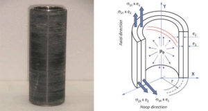 Analytical and experimental comparison of basalt and carbon fibers composites overwrapping of highly pressurized steel cylinders