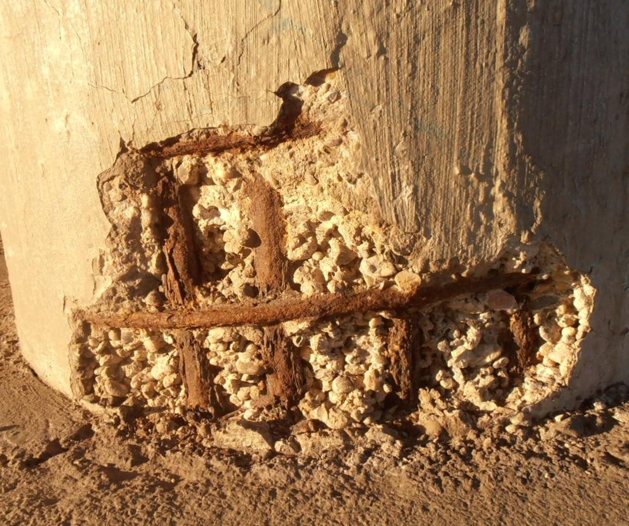 """Рак бетона"". Источник: Sarang/Wikimedia Commons"