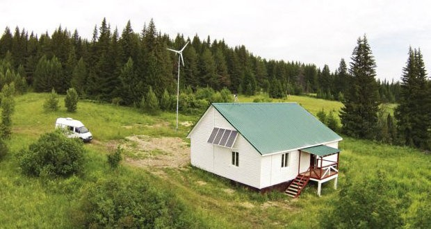 Basalt fiber eco-house built just outside the Russian city of Perm