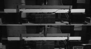 Влияние армирующих волокон на сопротивление сдвигу двухпролетного армированного бетона