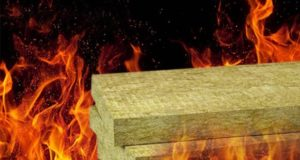 Tests confirm that stone wool is a fire safe solution
