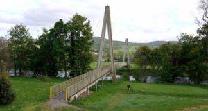Первому в мире композитному мосту исполняется 25 лет