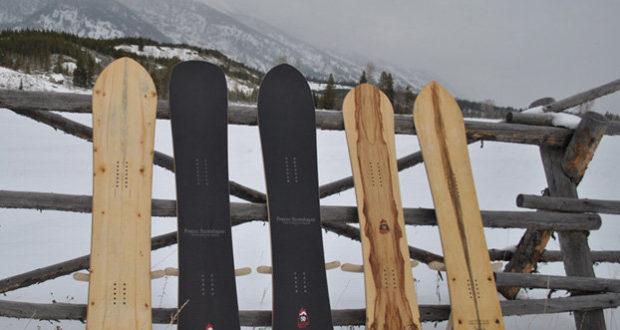 Сноуборды из юбилейной серии Jackson Hole 50th Anniversary.