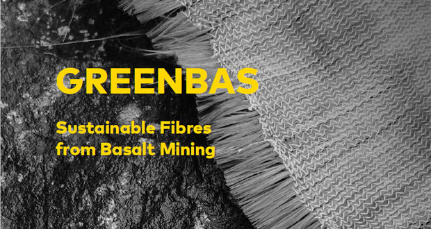 GREENBAS sustainable fibres from basalt mining