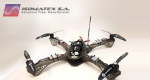 Belgium-based Isomatex presented drone made of basalt composite