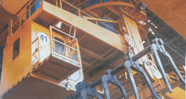 Kharkov plant applies basalt insulation boards for cabins of metallurgical cranes