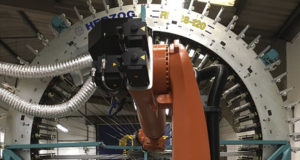 Robotic overbraiding facility to be showcased at Advanced Engineering