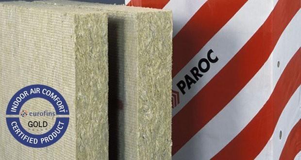 Базальтоизоляция PAROC получила европейский сертификат