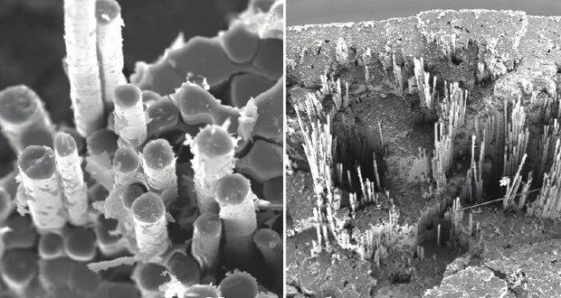 Механические свойства армированного базальтовыми волокнами композита на основе полисилоксановой матрицы при повышенных температурах