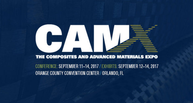 Registration to Composites and Advanced Materials Expo 2017 is open