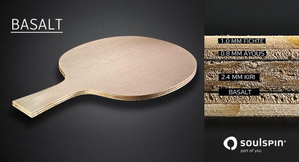 Ракетка для настольного тенниса Roots Basalt 6 .