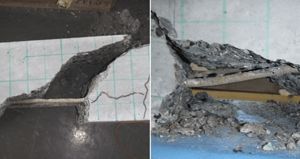 Test of prestressed concrete beams with BFRP tendons