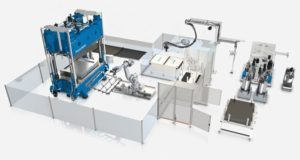 KraussMaffei presented fully automated wetmolding system